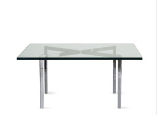 BARCELONA® TABLE (1930) Designed by Ludwig Mies van der Rohe, produced by Knoll® IN STOCK