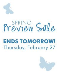 Spring Preview Sale - Save up to 50%  storewide! Plus, take up to an extra 20% off sale price merchandise**  Shop now.