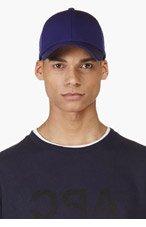 ACNE STUDIOS Indigo Baseball Cap for men