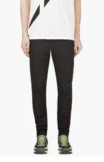 PYER MOSS Black Slim Miller Pants for men