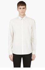 A.P.C. Ivory Polka Dot Shirt for men