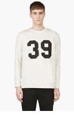 A.P.C. Ivory heathered NO.39 Sweatshirt for men