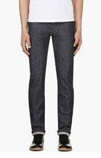 A.P.C. Indigo PETIT STANDARD RAW DENIM Jeans for men