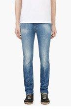 NUDIE JEANS Blue Tube Tom Slim Fit Jeans for men
