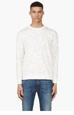 A.P.C. Ivory LEOPARD Spot Sweater for men