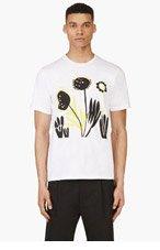 MARNI White Katja Schwalenberg Edition T-Shirt for men