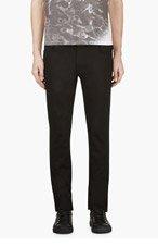 NUDIE JEANS Black Slim Thin Finn Jeans for men