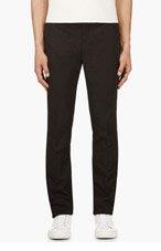 MARNI Black Slim Trousers for men