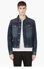 BLK DNM Indigo Classic Denim Jacket for men
