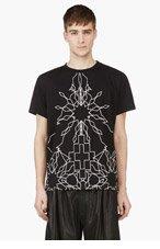 MARCELO BURLON COUNTY OF MILAN Black Edward T-Shirt for men