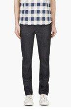 NUDIE JEANS Indigo Raw Denim Thin Finn Jeans for men