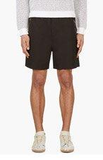 MARNI Black Stretch Waist Shorts for men
