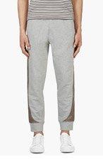 MONCLER GAMME BLEU Grey Ski Lounge Pants for men