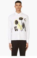 MARNI White Katja Schwalenberg Edition Shirt for men