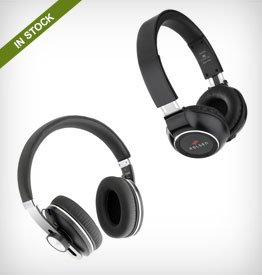 Polsen On-Ear and Around-Ear Bluetooth Headsets with Microphones