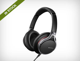 Sony MDR-10RNC Noise-Canceling Headphones with iOS Remote and Mic