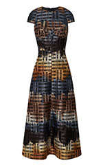 Bargello Bell Skirt Dress