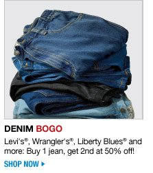 denim BOGO - shop now