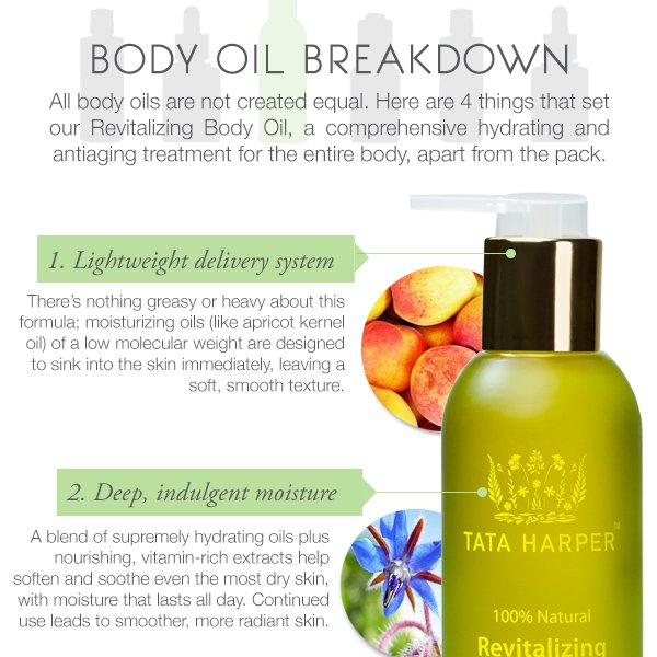 Body Oil Breakdown: What Sets Ours Apart