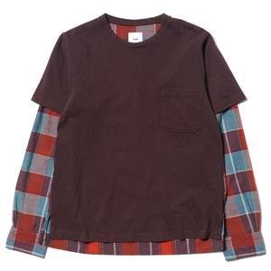ts(s) Shirt Sleeve T-Shirt Brown