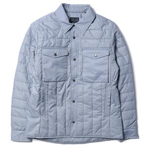 Wings + Horns PrimaLoft® Mini-Ripstop Shirt Jacket Grey
