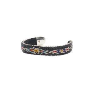 Chamula Bendable Bracelet Black/Multi