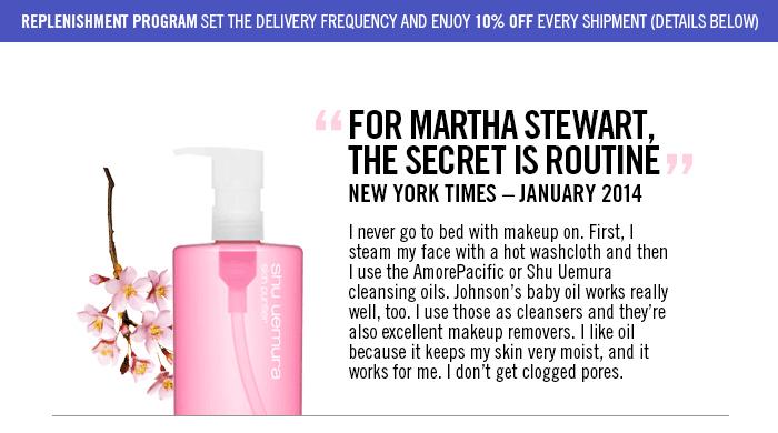 For Martha stewart