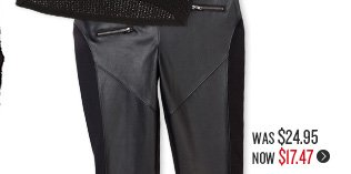 Ruby Zip Detail Legging