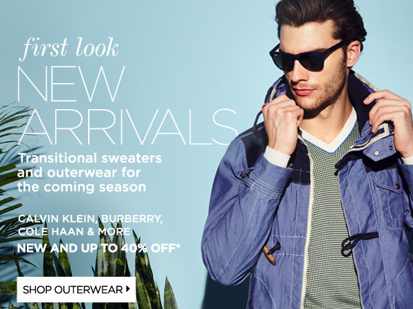 New Arrivals: Outerwear