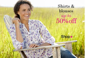 Shirts and Blouses up to 50% OFF