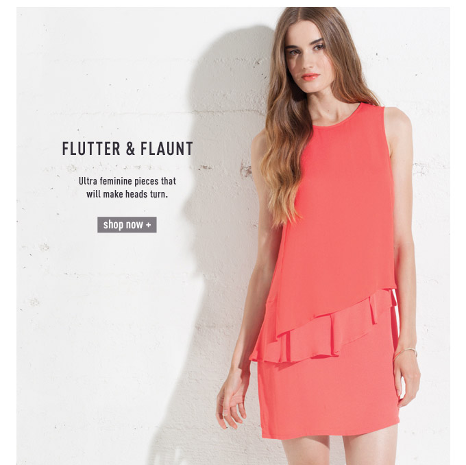 Flutter & Flaunt - Shop now
