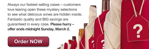 Hurry! Offer ends midnight Sunday, March 2. Order NOW.