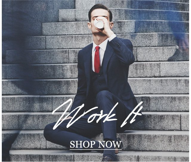 Work it: Get down to business with the finest formal workwear