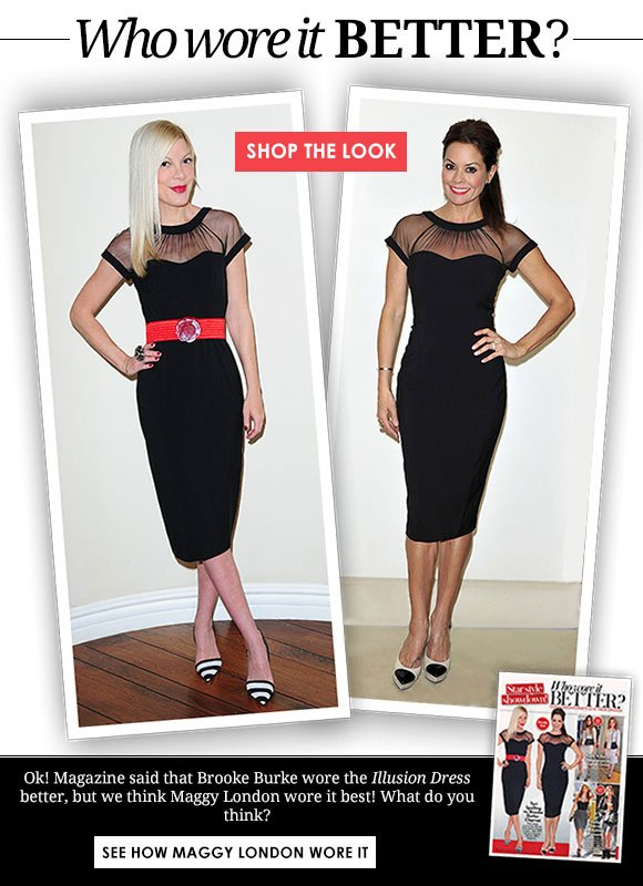 Who wore it better? Tori Spelling or Brooke Burke?