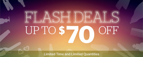 Flash Deals! Up to $70 off