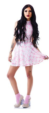 moon-collection-twiggy-floral-skater-skirt
