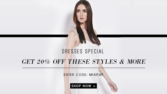 Dresses Special get 20% off these styles and more