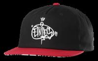 Crazed Hat, Black/Red