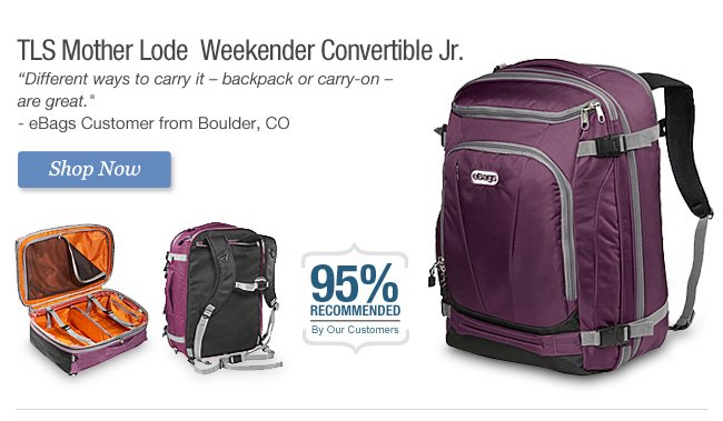 Shop TLS Mother Lode  Weekender Convertible Jr.