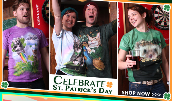 Celebrate St. Patrick's Day with a Mountain T-Shirt!