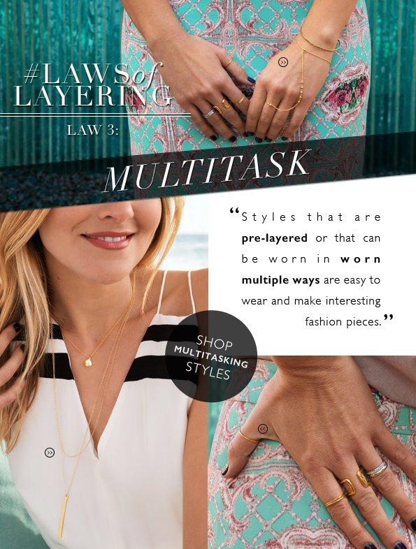 Law no.3   Multitasking Made Easy!