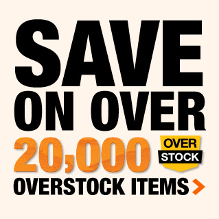 Save on over 20,000 Overstock Items