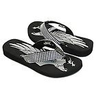 Xelement Womens Diamond Eagle Sandals