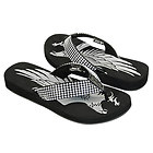 Xelement Womens Diamond Eagle Sandals