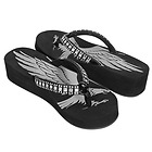 Xelement Womens Emerald Eagle Sandals