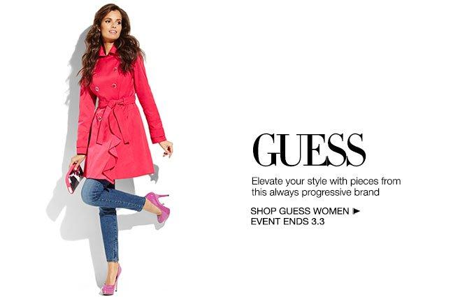 Shop Guess - Ladies & Shoes.