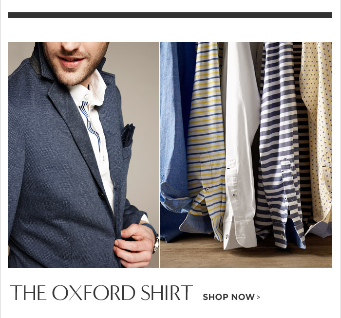 THE OXFORD SHIRT | SHOP NOW