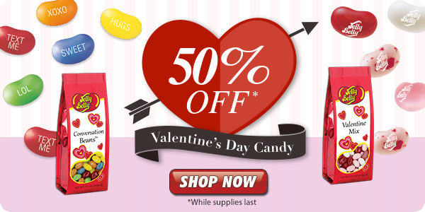 Limited Time: Valentine's Day Candy, up to 50% Off!