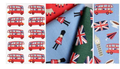 Dear Stella Fabrics London Calling