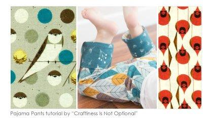 Birch Fabrics Charley Harper Organic Flannel
